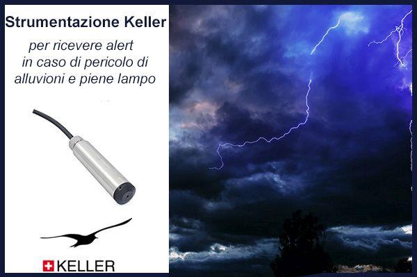 Da Keller, strumenti di alert per alluvioni e piene lampo