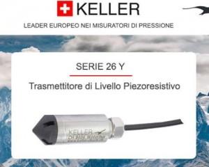 Keller per il monitoraggio e il controllo dell'acqua del sottosuolo