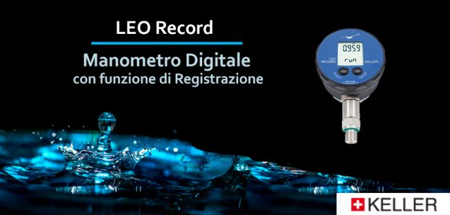 Manometri digitali LEO Record