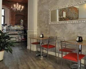 Soul di Ceramiche Keope al Caffè Bahira di Pistoia