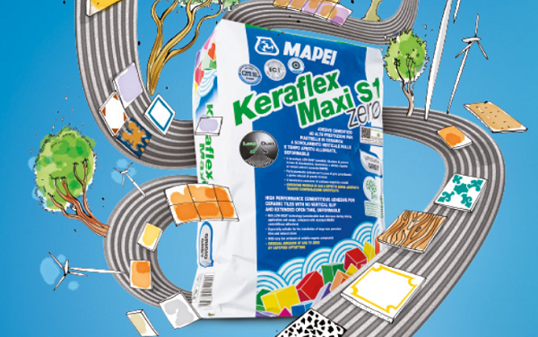 Adesivo deformabile Keraflex Maxi S1 zerø grigio