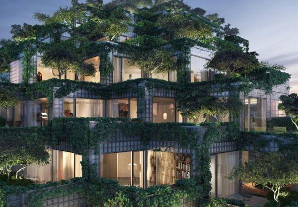 king Toronto si sviluppa in verticale con tanto verde
