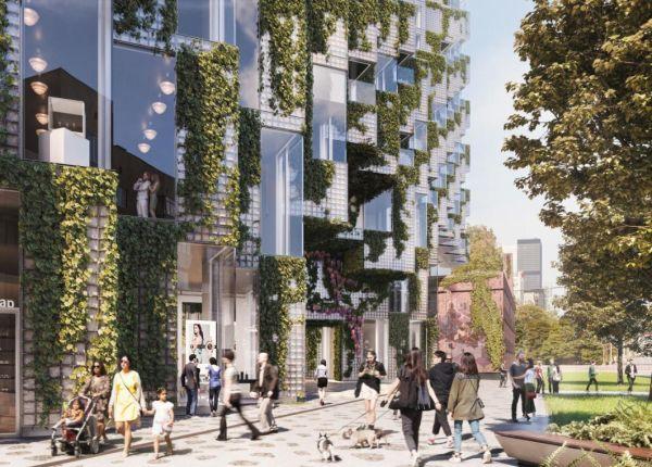 Il cuore del progetto King Toronto è una piazza pubblica