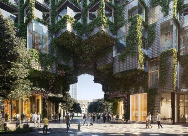 King Toronto il condominio dall'aspetto disomogeneo, che crea un movimento naturale