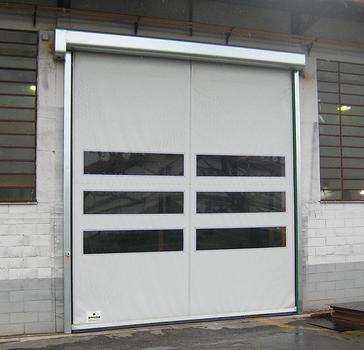 Porta avvolgibile rapida autoriparante lampo for Progettista di garage virtuale