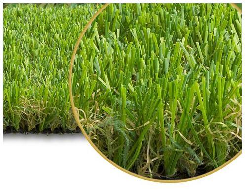 """Italgreen Landscape ha creato l'erba sintetica """"Fine"""", una soluzione di grande pregio estetico che richiama l'effetto di un prato mediterraneo."""