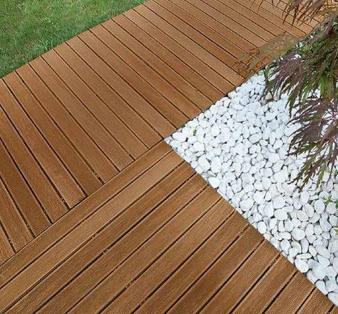 Guida alla scelta dei pavimenti per esterni - Pavimentazione giardino in legno ...