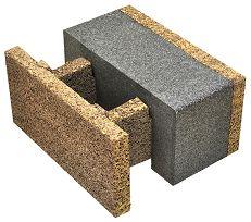 EGH-38-18, blocco in legno cemento di Legnobloc