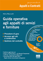 Guida operativa agli appalti di servizi e forniture