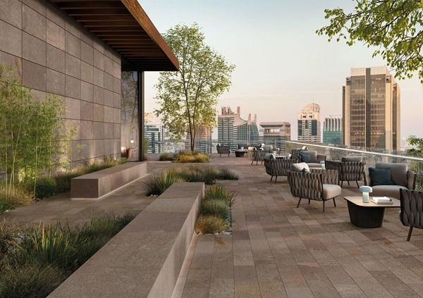 Superfici e pavimentazioni outdoor