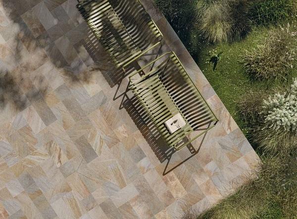 Pavimentazione Limes effetto quarzo