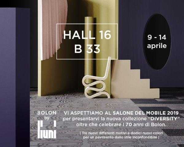 BOLON Diversity, la nuova collezione di pavimentazioni al Salone del Mobile