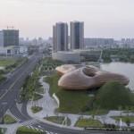 Liyang City Museum: fusione tra uomo, architettura e musica