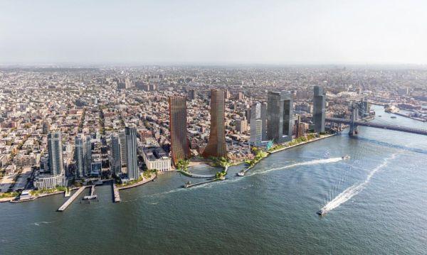 La nuova proposta per il lungomare di Brooklyn