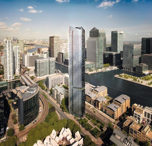 The Madison, la torre in vetro di 53 piani di Londra