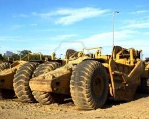 Macchine per costruzioni in grande difficoltà 1