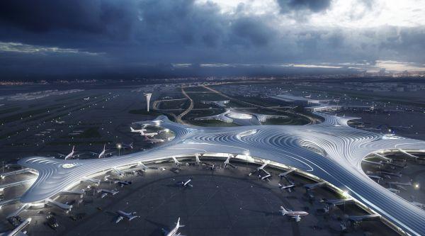 In Cina il terminal dell'aeroporto che sembra un fiocco di neve firmato MAD