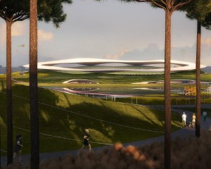 La Cina avvia i lavori del campus sportivo dall'aspetto extraterrestre