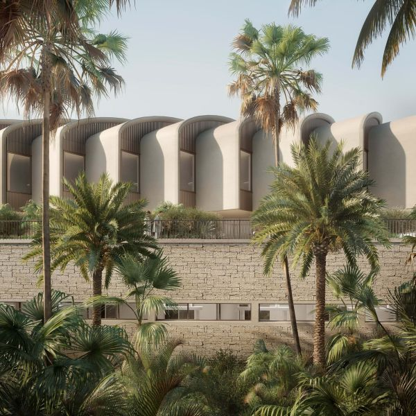 Magdi Yacoub Global Heart Center, esterno dell'edificio firmato Foster