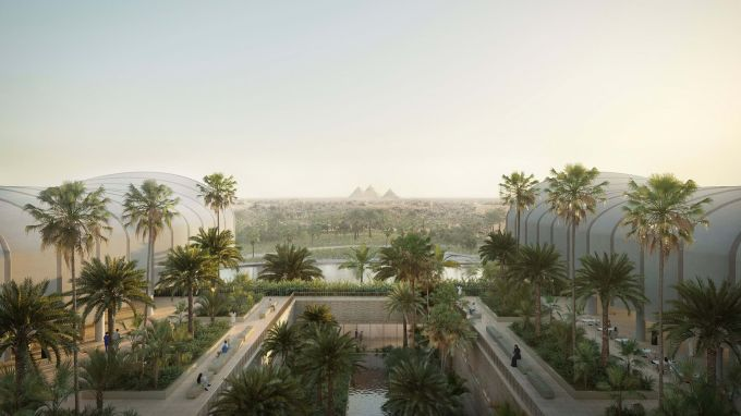 Magdi Yacoub Global Heart Center, ospedale in costruzione in Egitto in mezzo al verde