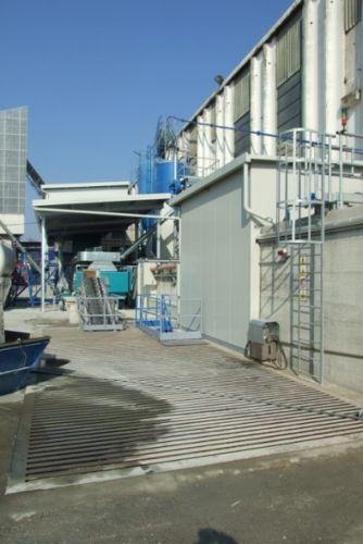 magnetti: uno dei recenti impianti installati nella fabbrica a ciclo chiuso