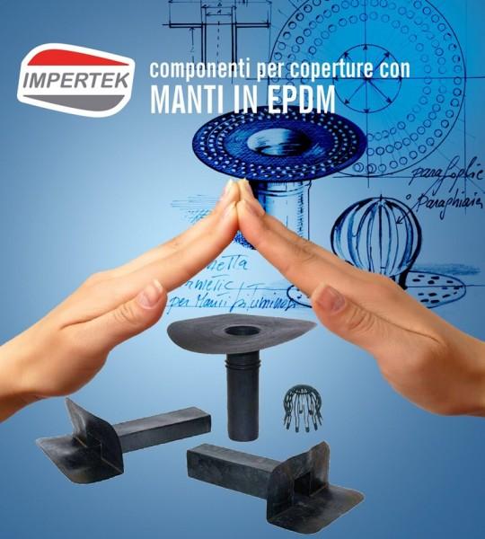 Componenti per coperture in EPDM