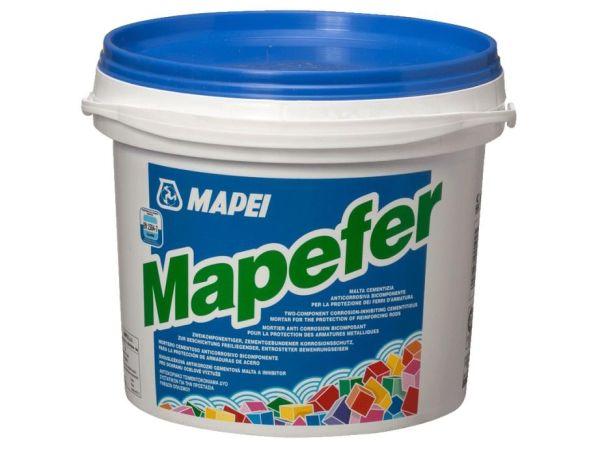 Mapefer di Mapei: malta cementizia monocomponente anticorrosiva
