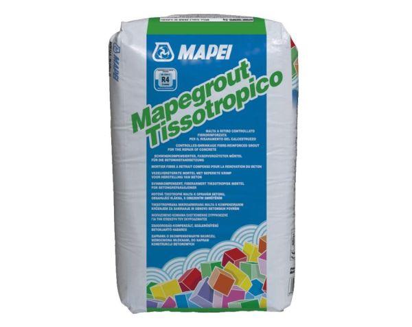 Mapegrout tissotropico di Mapei: malta a ritiro compensato fibrorinforzata