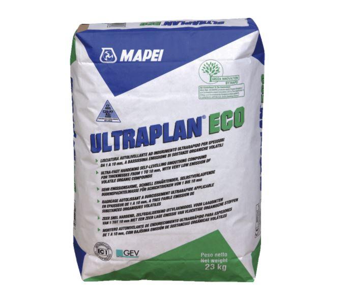 Mapei ULTRAPLAN ECO - Lisciatura autolivellante ad indurimento ultrarapido
