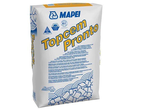 Mapei: malta premiscelata pronta all'uso Topcem Pronto