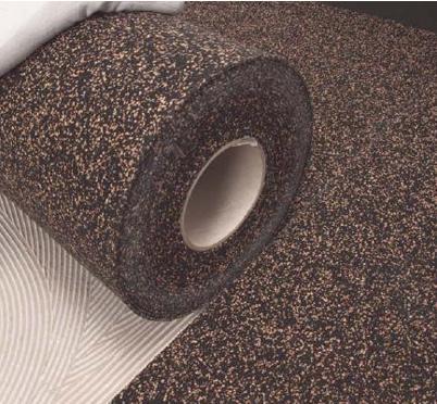 Mapei propone un sistema fonoisolante sottopavimento di basso spessore a base di sughero e gomma