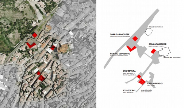 Mappa contestuale d'intervento