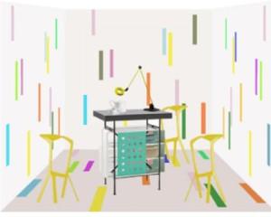 Marazzi alla mostra The Art of Living presso La Triennale