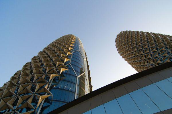 materiali adattivi per l'al bahar tower