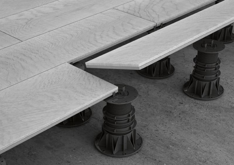 Pavimenti sopraelevati marazzi engineering - Pavimenti galleggianti per esterni ...