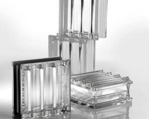 Mattone in vetro realizzato su misura