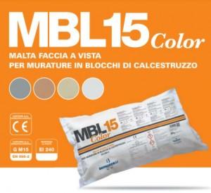 MBL15 Color – MALTA FACCIA A VISTA PER MURATURE IN BLOCCHI DI CALCESTRUZZO