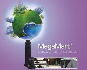 Supporti MegaMart prodotti con materiali riciclati e riciclabili