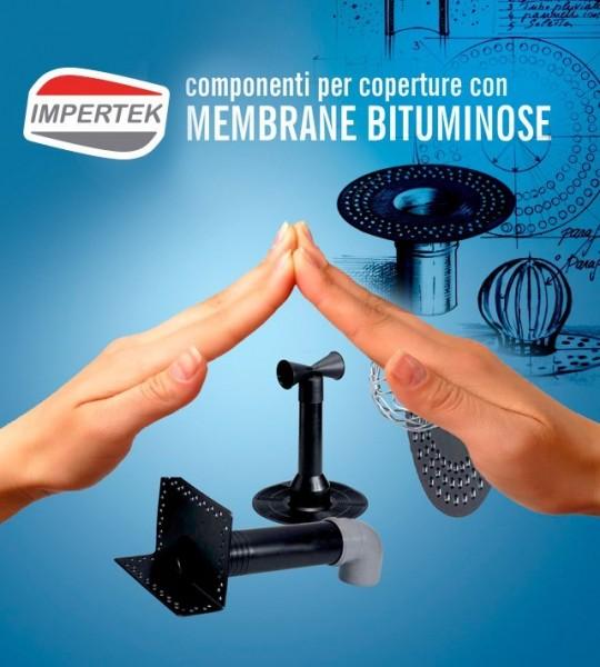 Componenti per coperture con membrane bituminose - bocchette