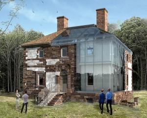 Glass House: proteggere monumenti storici con il vetro