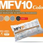 MFV10Color – MALTA FACCIA A VISTA PER MURATURE IN MATTONI PARAMANO
