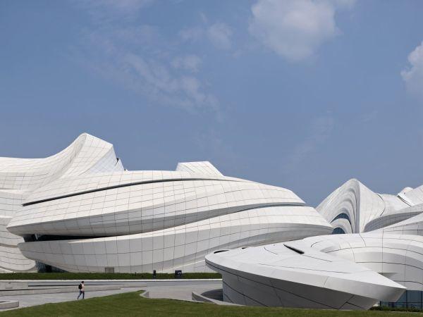 Mica - Centro artistico e culturale in Cina dalle forme organiche
