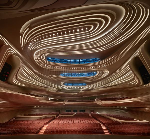 mica- il teatro dalle forme sinuose