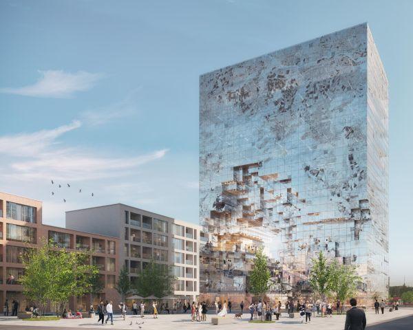 The Milestone, un edificio dalla facciata interattiva
