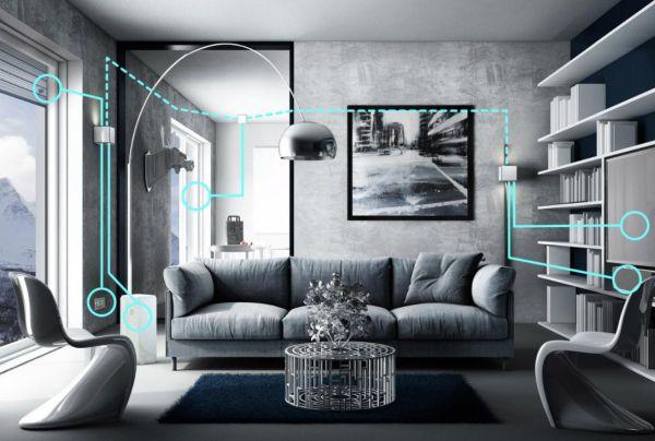 Il sistema domotico Mind comanda tutta la tecnologia di casa.