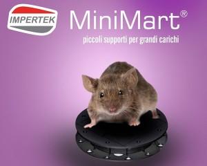 Supporto MiniMart in materiale riciclato