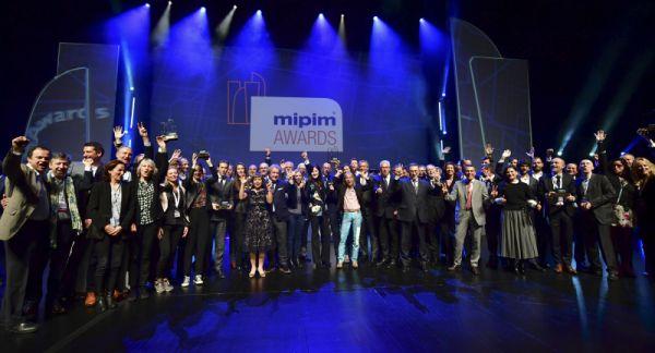 Premiazione Mipim award 2018 a tre progetti italiani