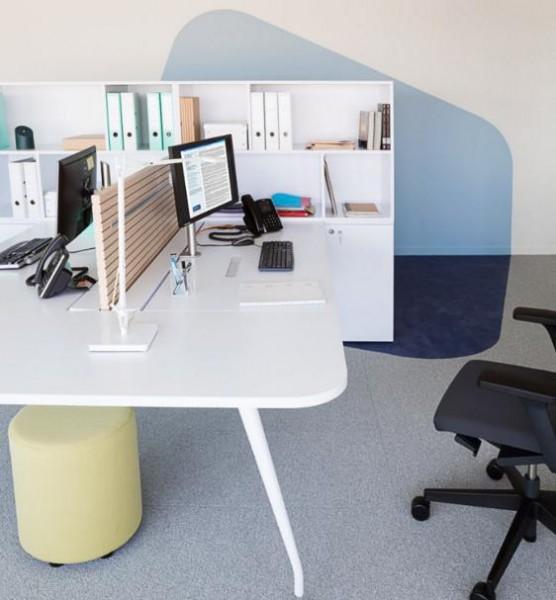 Integrazione dell'isolamento acustico nei mobili da ufficio