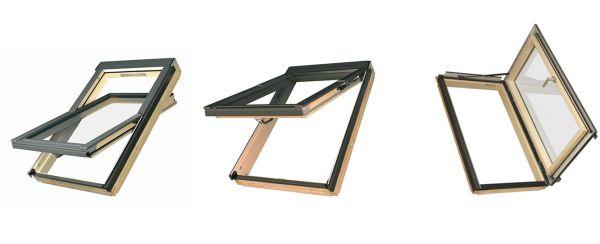 Modalità apertura finestre da tetto