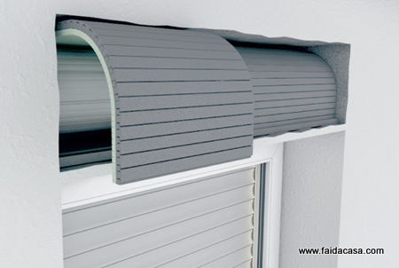 Isolamento termico per cassonetti for Tapparelle per lucernari prezzi